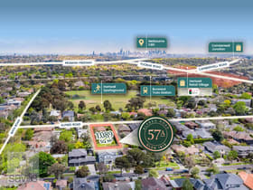 Development / Land commercial property for sale at 57A Alfred Road Glen Iris VIC 3146