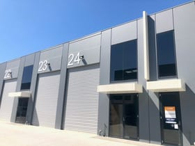 Industrial / Warehouse commercial property for sale at 24/1470 Ferntree Gully Road Knoxfield VIC 3180