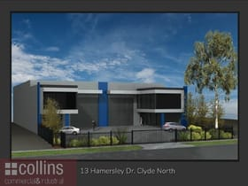 Industrial / Warehouse commercial property for sale at 13 Hamersley Drive Clyde North VIC 3978