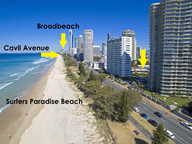 Hotel, Motel, Pub & Leisure commercial property for sale at 3321-3323 Surfers Paradise Boulevard Surfers Paradise QLD 4217