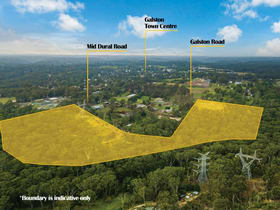 Development / Land commercial property for sale at Lot 200/25-27 Mid Dural Road Galston NSW 2159