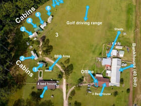 Rural / Farming commercial property for sale at 481-483 King Creek Road King Creek NSW 2446