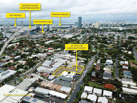 Development / Land commercial property for sale at 23,25 & 27B Margaret Street Southport QLD 4215