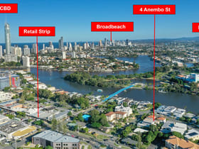 Development / Land commercial property for sale at 4 Anembo Street Chevron Island QLD 4217