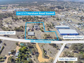Hotel, Motel, Pub & Leisure commercial property for sale at Lot 2/1-7 Horsham Road Stawell VIC 3380