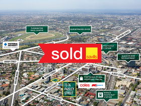 Development / Land commercial property sold at 72-76 Paisley Street Footscray VIC 3011