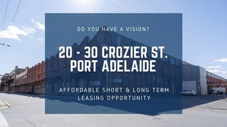 20-30 Crozier St Port Adelaide SA 5015
