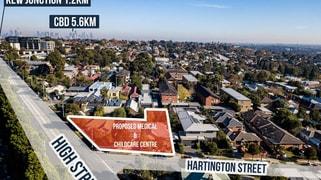 463 High St and 1 & 3 Hartington  Street Kew VIC 3101