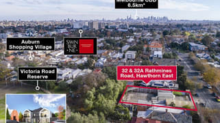 32 & 32A Rathmines Road Hawthorn East VIC 3123