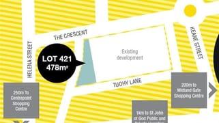 Lot 421 The Crescent Midland WA 6056