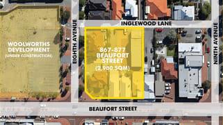 867, 871, 875 and 87 Beaufort Street Inglewood WA 6052