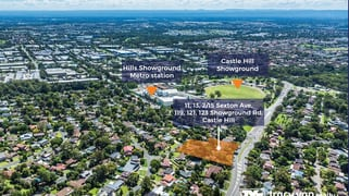 11,13,2/15 Sexton Avenue & 119, 121, 123 Showground Road Castle Hill NSW 2154