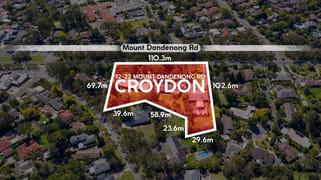 12 - 22 Mount Dandenong Road Croydon VIC 3136