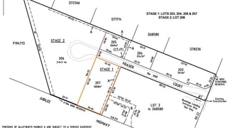 Lot 207/ FRASER COURT ALLOTMENTS Mount Gambier SA 5290