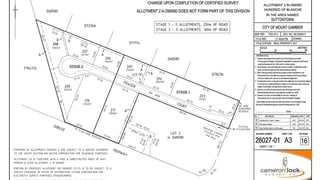 LOT 207 FRASER COURT Mount Gambier SA 5290