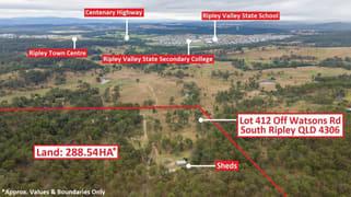 .Lot 412 Off Watsons Road South Ripley QLD 4306