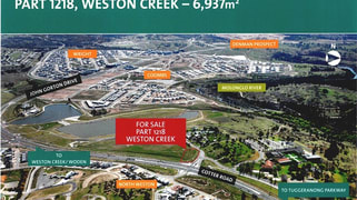 Part 1218 Cotter Road Weston ACT 2611