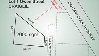 Lot 1, 49 Owen Street Craiglie QLD 4877