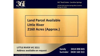 Bacchus Marsh Road, Little River VIC 3211