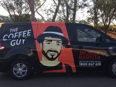 The Coffee Guy Ballarat & Western District VIC wide franchise for sale - Image 1
