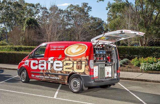 Cafe2U Erskine franchise for sale - Image 1