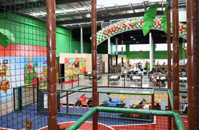 Croc's Playcentre Brendale franchise for sale - Image 1