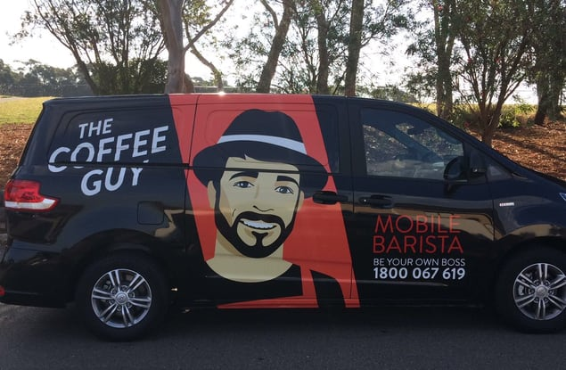 The Coffee Guy Brisbane Region QLD wide franchise for sale - Image 1