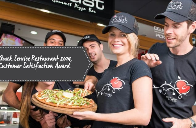 Crust Gourmet Pizza MacKay franchise for sale - Image 1