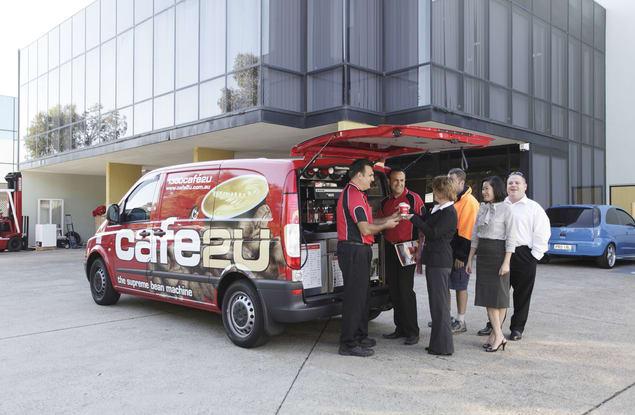 Cafe2U Notting Hill franchise for sale - Image 1