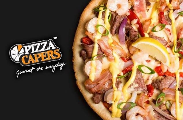 Pizza Capers Robina franchise for sale - Image 1