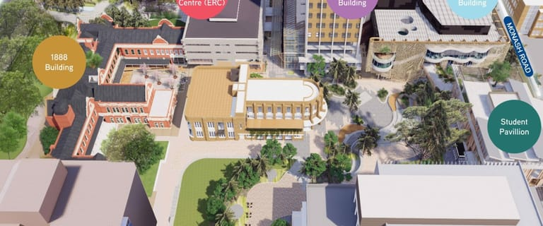 Shop & Retail commercial property for lease at New Student Precinct - Parkville Campus Cnr Grattan and Swanston Streets Parkville VIC 3052