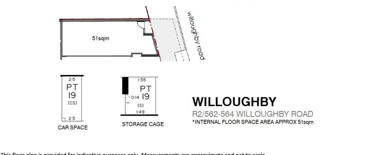 Shop & Retail commercial property for lease at R2/562-564 Willoughby Road Willoughby NSW 2068