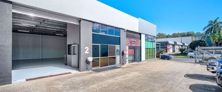 Factory, Warehouse & Industrial commercial property for lease at Unit 2, 13 Commercial Drive Ashmore QLD 4214