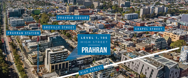 Offices commercial property sold at Level 1, 105 High Street Prahran VIC 3181