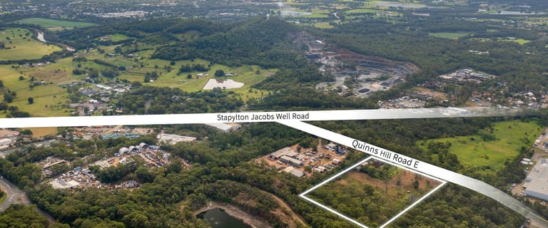 Development / Land commercial property for sale at 42 Quinns Hill Road East Stapylton QLD 4207