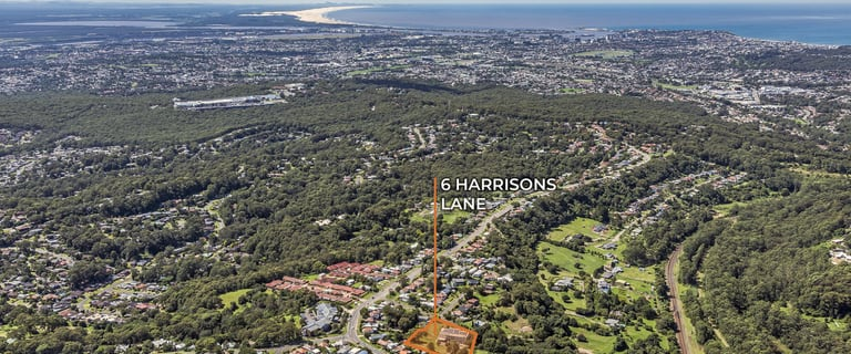 Development / Land commercial property for sale at 6 Harrisons Lane Cardiff Heights NSW 2285