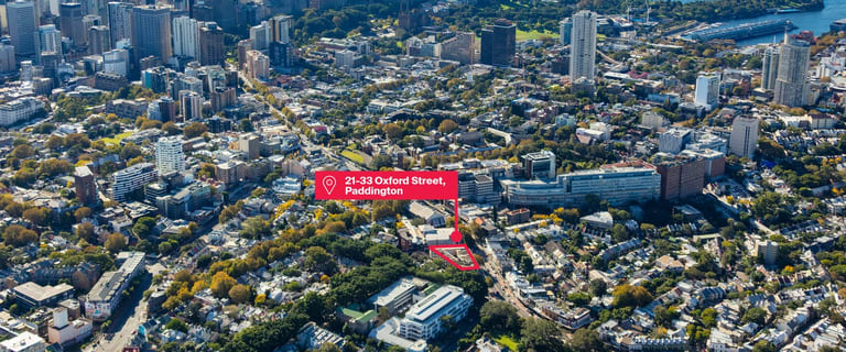 Development / Land commercial property for sale at 21-33 Oxford Street Paddington NSW 2021