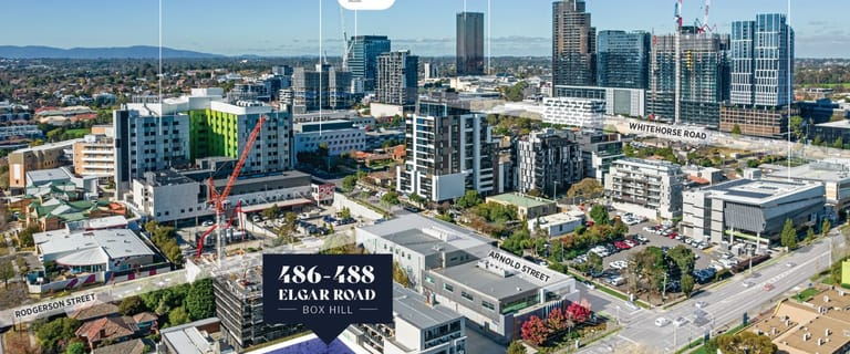 Development / Land commercial property for sale at 486-488 Elgar Road Box Hill VIC 3128