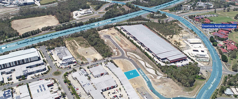 Factory, Warehouse & Industrial commercial property for sale at 17 (Lot 3) Dalton Street Upper Coomera QLD 4209