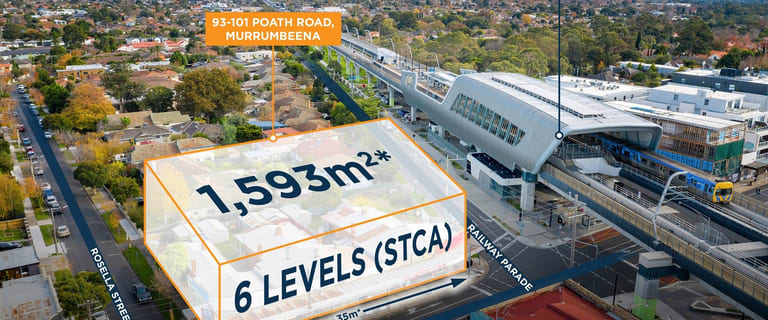 Shop & Retail commercial property for sale at 93-101 Poath Road Murrumbeena VIC 3163