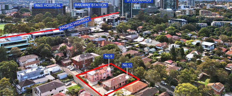 Offices commercial property for sale at 9 - 11 Park Road St Leonards NSW 2065
