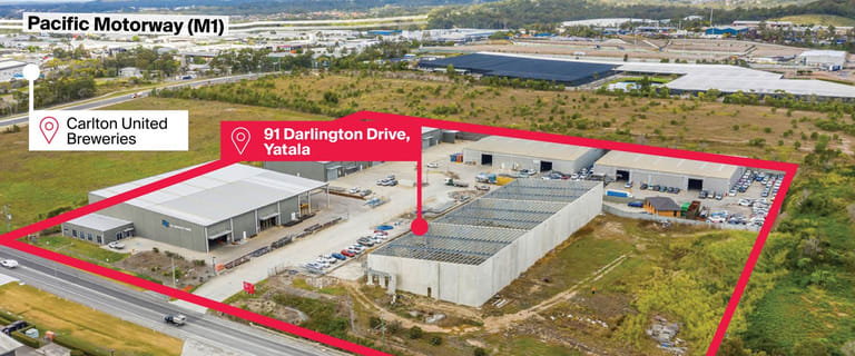 Factory, Warehouse & Industrial commercial property for lease at 91 Darlington Drive Yatala QLD 4207