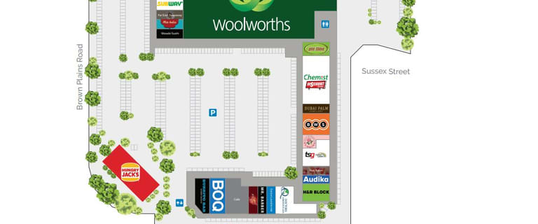 Medical / Consulting commercial property for lease at 8-24 Browns Plains Road Browns Plains QLD 4118