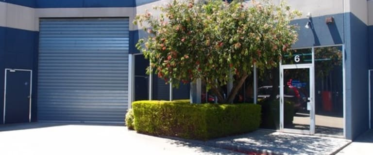 Factory, Warehouse & Industrial commercial property for sale at 6/56 Smith Road Springvale VIC 3171