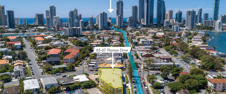 Offices commercial property for lease at 65-67 Thomas Drive - Chevron Island Surfers Paradise QLD 4217