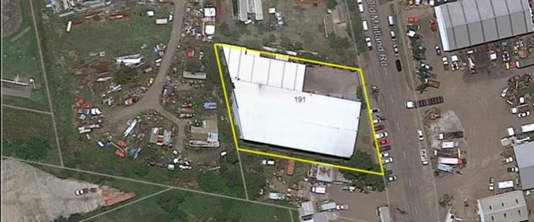 Industrial / Warehouse commercial property for lease at 191 Old Maitland Road Hexham NSW 2322