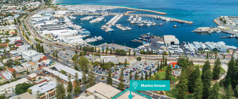 Offices commercial property for lease at 1 Essex Street Fremantle WA 6160