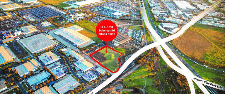Industrial / Warehouse commercial property for lease at 121-139A Dohertys Road Altona North VIC 3025