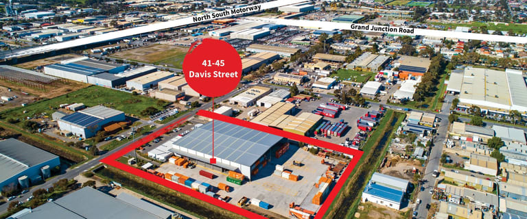 Industrial / Warehouse commercial property for lease at 41 - 45 Davis Street Wingfield SA 5013