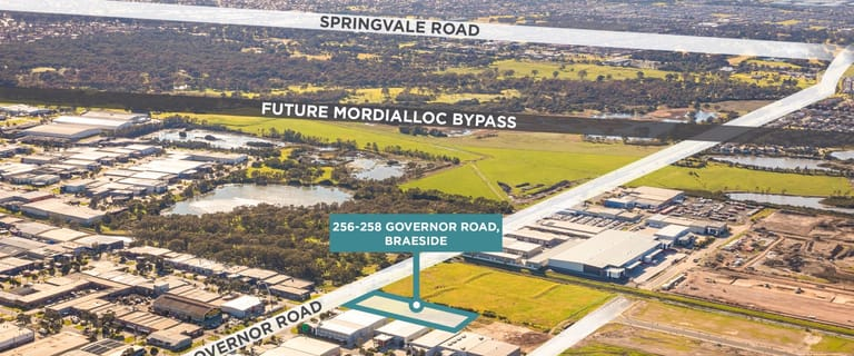 Industrial / Warehouse commercial property for lease at 256-258 Governor Road Braeside VIC 3195